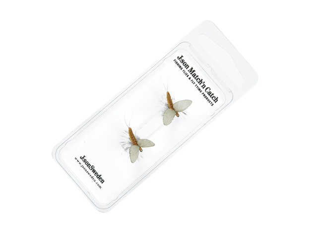 Picture of 2 Pack Mayfly Dun 3 Cinnamon Brown