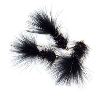 Picture of G.H Wolly Bugger Black #6