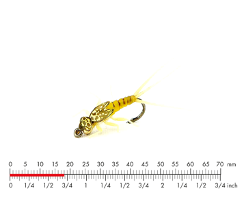 Immagine di Tungsten Mayfly Nymph 3 Sulphur