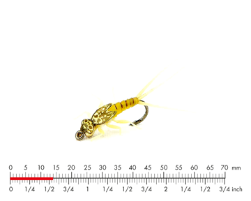 Picture of Tungsten Mayfly Nymph 4 Sulphur